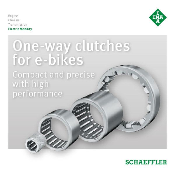 One-way clutches for e-bikes