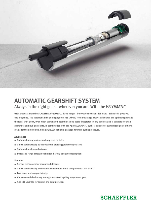 AUTOMATIC GEARSHIFT SYSTEM