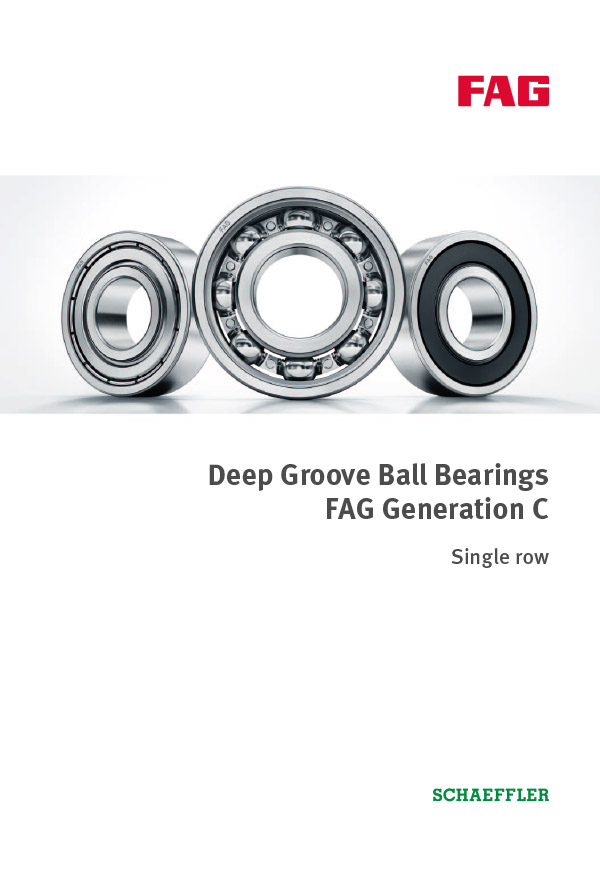 Deep Groove Ball Bearings Generation C