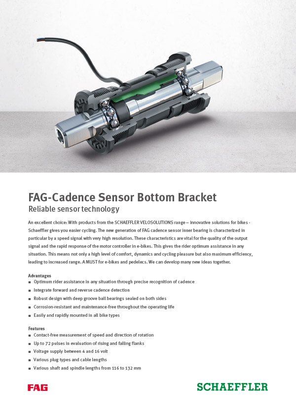 FAG-Cadence Sensor Bottom Bracket