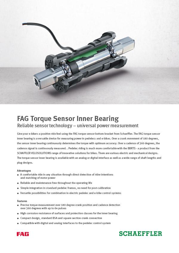 FAG Torque Sensor Inner Bearing