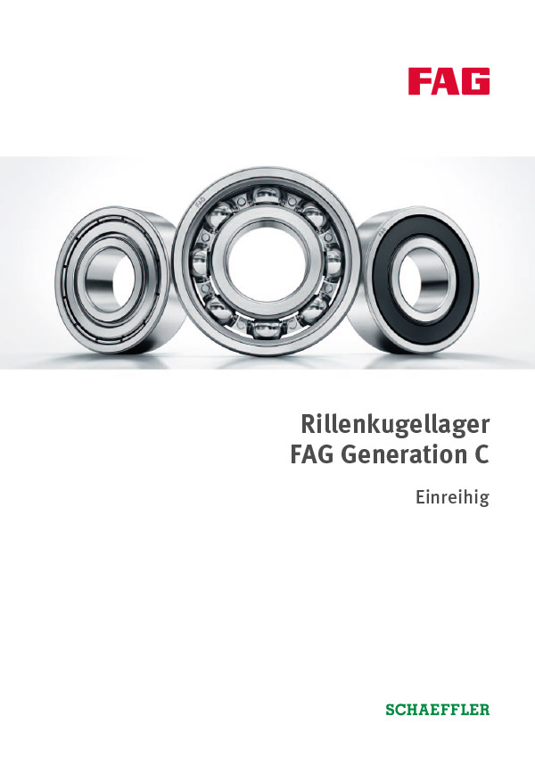 Rillenkugellager Generation C